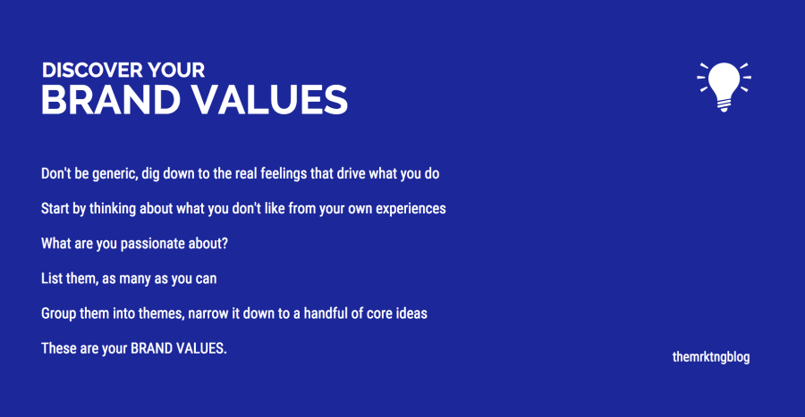 Discover Your Brand Values