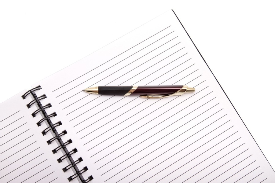 Notepad And Pen For Jotting Writing Tips